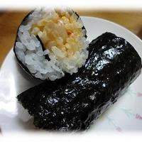 お漬物のキムマヨ恵方巻き