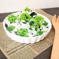 マヨネーズ不使用♪菜の花と海苔の和風ポテサラ