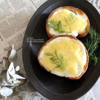 ヨーグルトチーズトースト