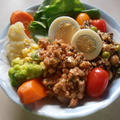 残り野菜おかずを上手く活用したヘルシー弁当