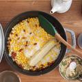 とうもろこしとクコの実の薬膳ご飯 by yumipo.aさん