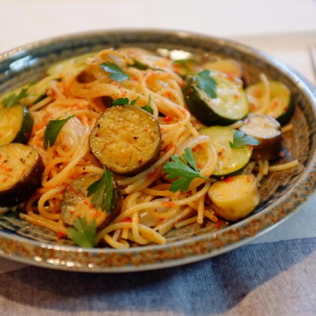 クックパッドニュースに紹介されました♡『夏野菜とマッサ☆ワンポットパスタ♪』