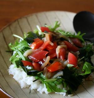 ■海鮮サラダ丼。