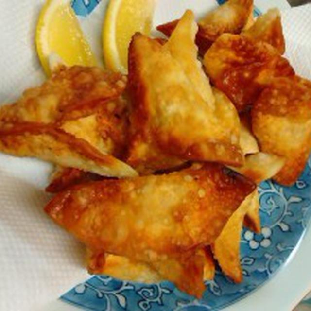 鶏肉で変わり餃子 レシピ おつまみにグッド