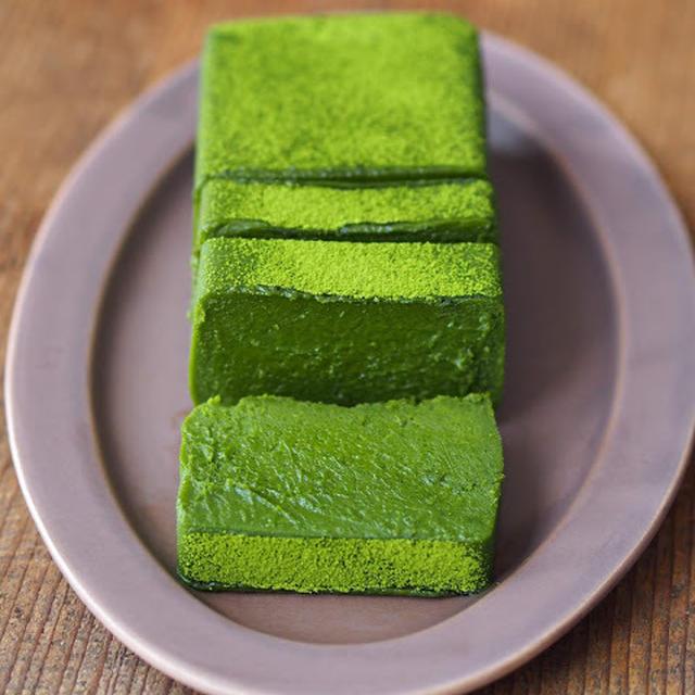 MATCHA Green Tea & White Chocolate Terrine