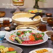 【献立】さぶろー山のお誕生日ご飯@2019。~手巻き寿司~