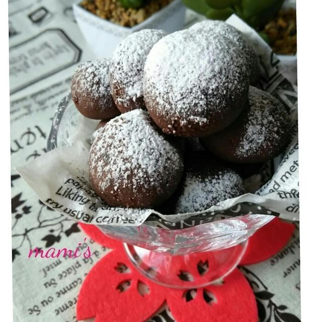 ☆ココアミントクッキー☆