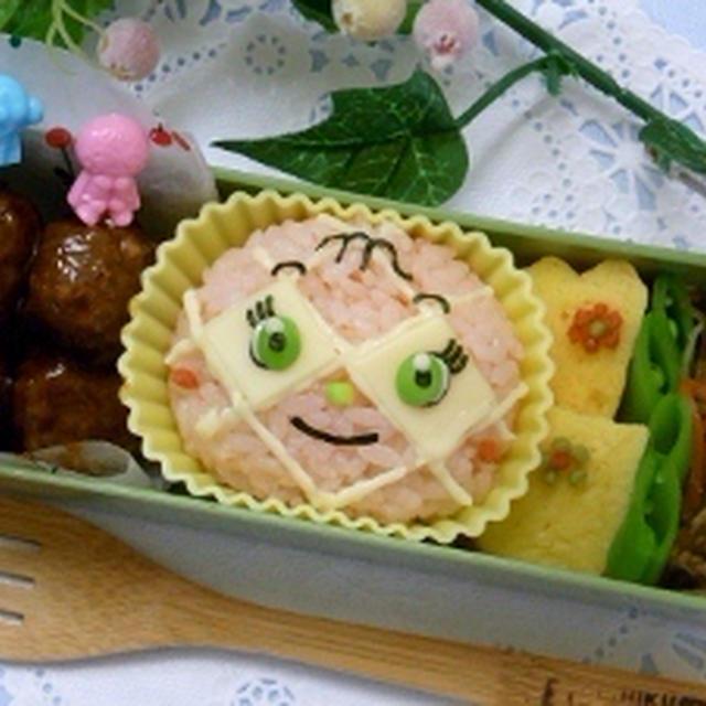 メロンパンナちゃんのお弁当&