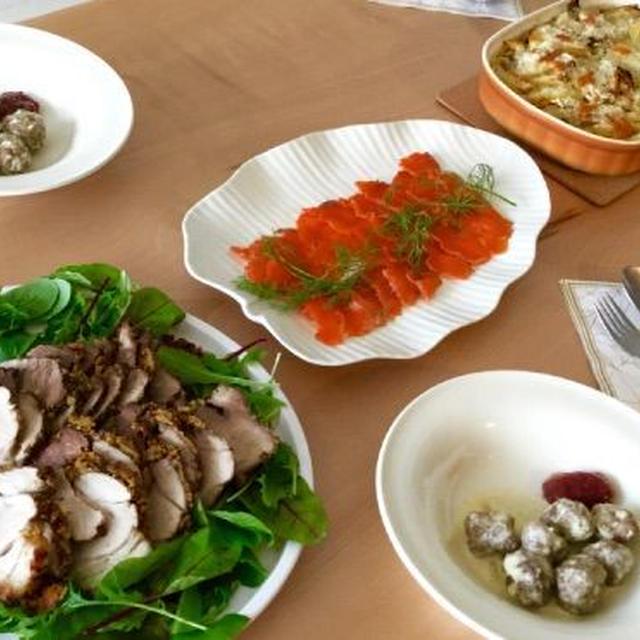 *Cooking Cafe♪ 北欧風クリスマス料理はいかが? *アンチョビ&ポテトグラタン、ヤンソンの誘惑。