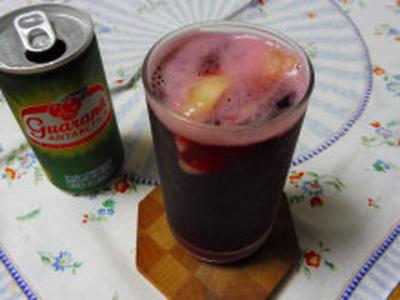 桃のワインカクテル