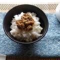 ご飯のお供に♪つくりおきにも!さば味噌煮缶の佃煮 by TOMO(柴犬プリン)さん