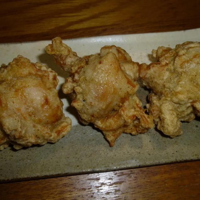 鶏の塩山椒唐揚げ