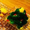 スモークサーモンのクリスマスツリーサラダ