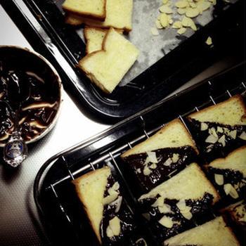 またまたコテコテチョコラスク。