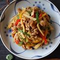 【たけのこレシピ】新発売の食べてみた♡と我が家の青椒肉絲
