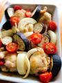 手羽元と野菜のスパイシー焼き