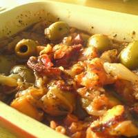 タコのピリ辛オイル煮
