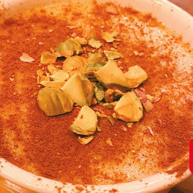 [牛乳と米粉で作るトルコの伝統的スイーツ] 〜ムハッレビ〜