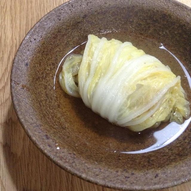 白菜を大量消費する 「和風ロール白菜」