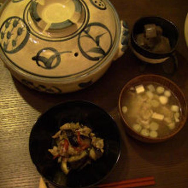 土鍋で鶏とごぼうの炊き込みごはん