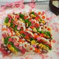 #012 ひな祭りのちらし寿司と桜餅