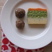 クリスマスのミートボールと野菜のパテ/ Julköttbullar och grönsakspaté