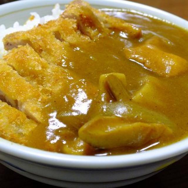カツカレー丼 (プチ丼)