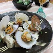 豆腐とホタテのワイン蒸し☆連休はDIY