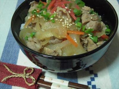 >簡単豚丼 by うさうささん