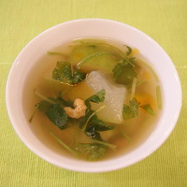 冬瓜の中華スープ。