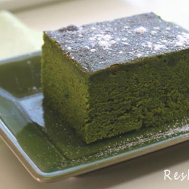 抹茶のケーキ(レシピ)
