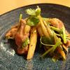 豚ヒレと牛蒡の蜂蜜味噌ペッパー炒め煮
