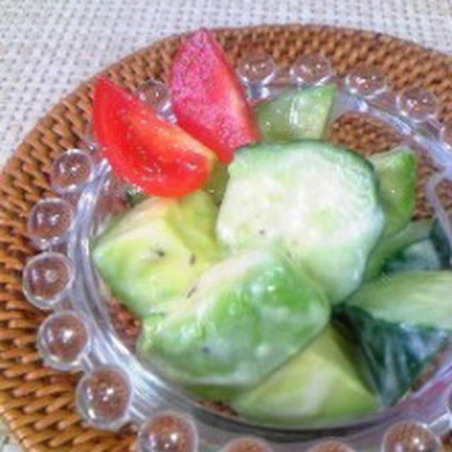 塩ヨーグルトの作り方☆アボカドの塩ヨーグルトサラダ☆