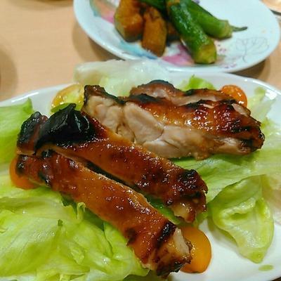 北京ダック風チキンのサラダ