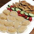 フライパンひとつで『鶏手羽中の焼き煮』『マッシュポテトの玉葱カップ』