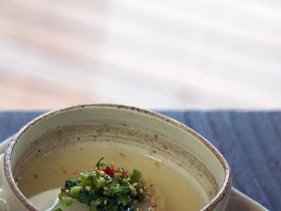 >白玉粉だけで簡単に作る 白玉肉団子♪のトロトロ蕪スープ by やちゃmaruさん