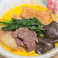 【レシピ 小松菜、ひらたけ、絹揚げを入れたすき焼き】全体運、健康運、財運、金運アップ!