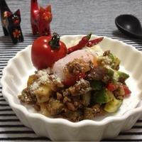 ガラムマサラで簡単スパイシー ♪♪沖縄料理『タコライス』& ☆温泉卵の簡単な作り方☆