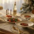 今日の夕食:チキンのミネストローネ煮込みとブルースコストのジンジャーエール