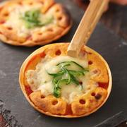 餃子の皮deカリカリチーザピザ【#簡単 #宅飲みバル #家飲み #おつまみ #グリコタイアップ #PR】