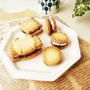 餡バター&餡チーズサンドクッキー/cottaコラムに使われた道具と食材セールのお知らせ
