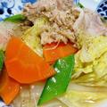 白菜と豚バラ肉の旨コク煮<ホタテ風味♪>
