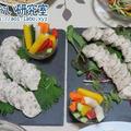 料理日記 34 / とり胸肉のソーセージとピクルス