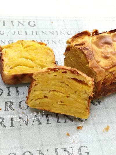 【手作りおやつ】ホットケーキミックスで「安納芋のガトーインビジブル」♡