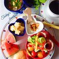 ☆ベジタブルスープで美味しい朝ごはん☆