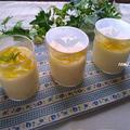 マシュマロとマーマレードで♪レンジで簡単!マシュマロとマーマレードのムース