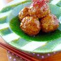 うずら肉団子のピリピリ七味あん♪ by みぃさん