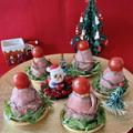 クリスマスに・・ローストビーフdeツリーのおにぎり☆