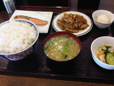 【納豆】神戸亭の神メニュー【定食】