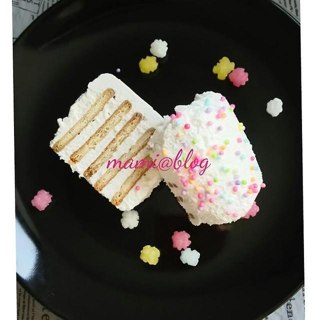 ☆ビスケットのケーキ☆